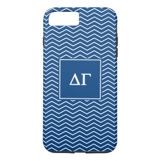 Delta Gamma | Chevron Patter iPhone 7 Plus Case
