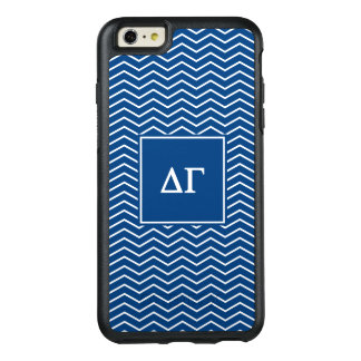Delta Gamma | Chevron Patter OtterBox iPhone 6/6s Plus Case