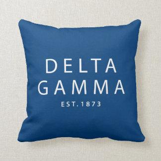 Delta Gamma | Est. 1873 Cushion