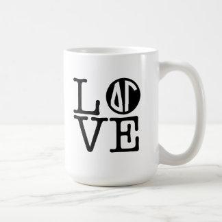 Delta Gamma | Love Coffee Mug