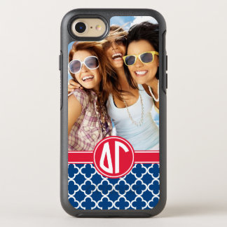 Delta Gamma | Monogram and Photo OtterBox Symmetry iPhone 8/7 Case