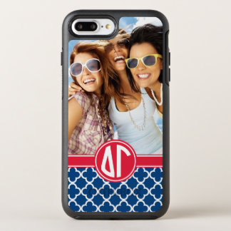 Delta Gamma | Monogram and Photo OtterBox Symmetry iPhone 8 Plus/7 Plus Case