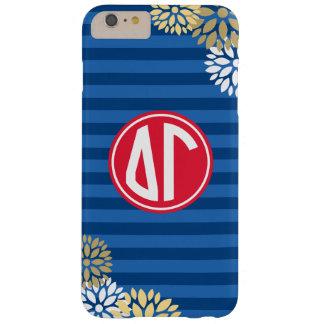 Delta Gamma   Monogram Stripe Pattern Barely There iPhone 6 Plus Case