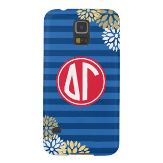 Delta Gamma | Monogram Stripe Pattern Galaxy S5 Covers