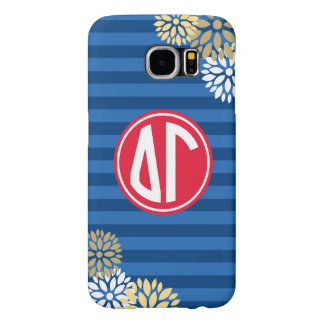 Delta Gamma | Monogram Stripe Pattern Samsung Galaxy S6 Cases