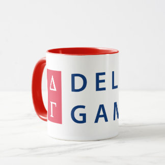 Delta Gamma | Stacked Logo Mug