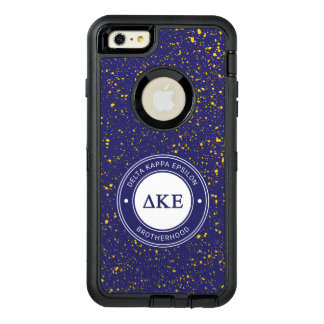 Delta Kappa Epsilon | Badge OtterBox Defender iPhone Case