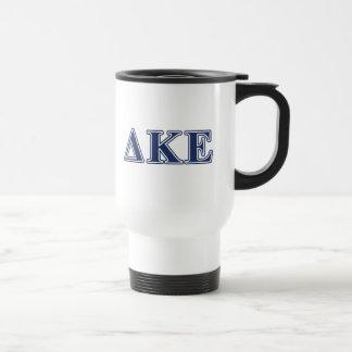 Delta Kappa Epsilon Blue Letters Coffee Mug
