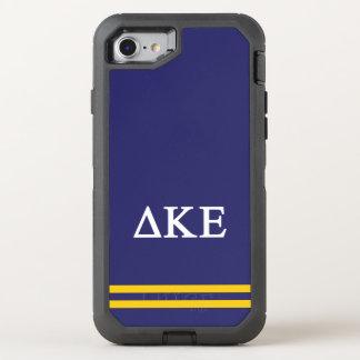 Delta Kappa Epsilon | Sport Stripe.ai OtterBox Defender iPhone 8/7 Case