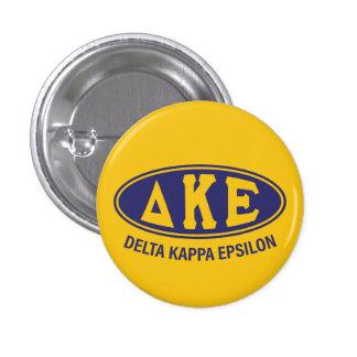 Delta Kappa Epsilon | Vintage 3 Cm Round Badge
