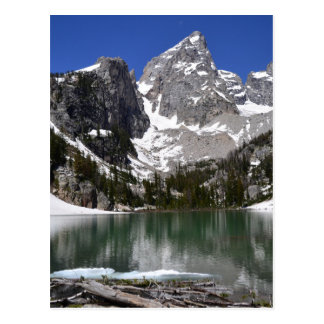 Delta Lake Grand Teton National Park Postcard