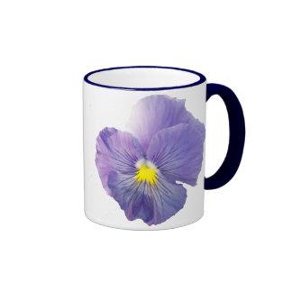 Delta Light Blue Pansy Mug Mug