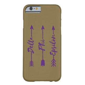 Delta Phi Epsilon Arrow Barely There iPhone 6 Case