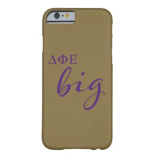 Delta Phi Epsilon Big Script Barely There iPhone 6 Case