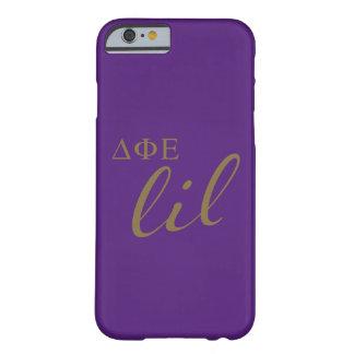 Delta Phi Epsilon Lil Script Barely There iPhone 6 Case