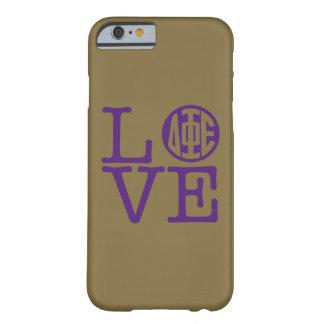 Delta Phi Epsilon Love Barely There iPhone 6 Case