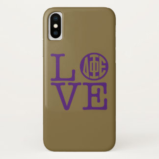 Delta Phi Epsilon Love iPhone X Case