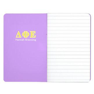 Delta Phi Epsilon Yellow Letters Journal
