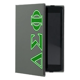 Delta Sigma Phi Green Letters iPad Mini Cover