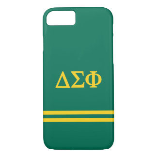 Delta Sigma Phi | Sport Stripe iPhone 8/7 Case