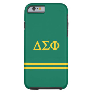 Delta Sigma Phi | Sport Stripe Tough iPhone 6 Case