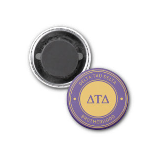 Delta Tau Delta   Badge Magnet