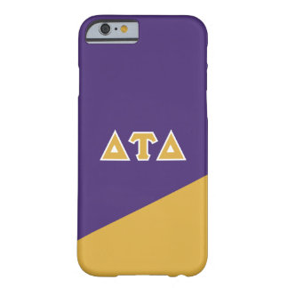 Delta Tau Delta | Greek Letters Barely There iPhone 6 Case