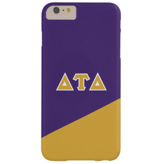 Delta Tau Delta | Greek Letters Barely There iPhone 6 Plus Case