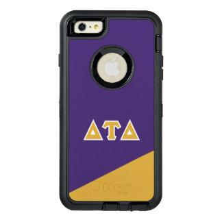 Delta Tau Delta   Greek Letters OtterBox Defender iPhone Case