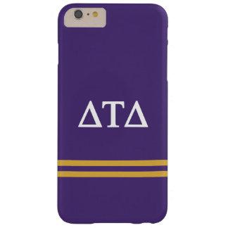 Delta Tau Delta   Sport Stripe Barely There iPhone 6 Plus Case