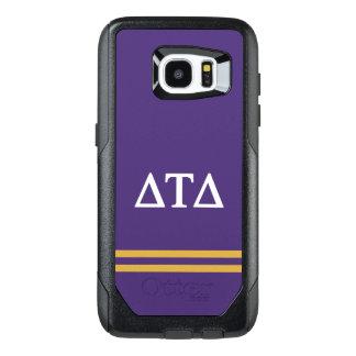Delta Tau Delta   Sport Stripe OtterBox Samsung Galaxy S7 Edge Case