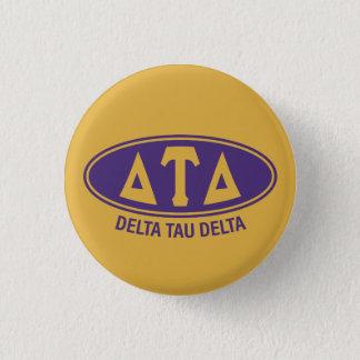 Delta Tau Delta   Vintage 3 Cm Round Badge