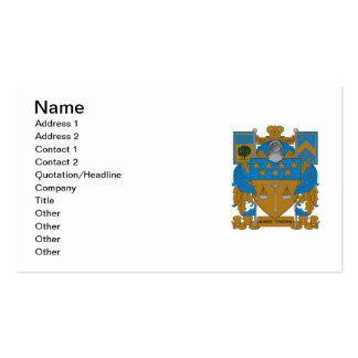 Delta Upsilon Coat of Arms Pack Of Standard Business Cards