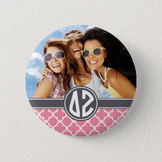 Delta Zeta | Monogram and Photo 6 Cm Round Badge