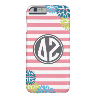 Delta Zeta | Monogram Stripe Pattern Barely There iPhone 6 Case