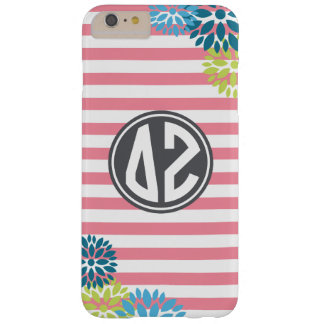 Delta Zeta | Monogram Stripe Pattern Barely There iPhone 6 Plus Case