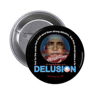DELUSION PINBACK BUTTON