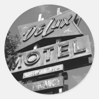 Delux Motel Stickers
