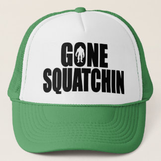 Deluxe Bobo GONE SQUATCHIN Hat - Finding Bigfoot