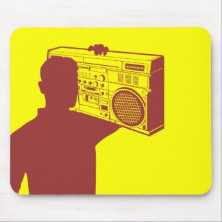 Deluxe Boom Box Mousepad