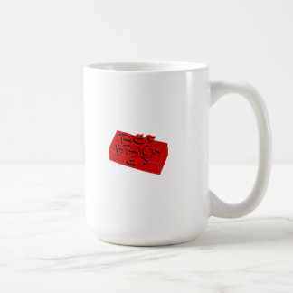 Deluxe Brick G's Basic White Mug