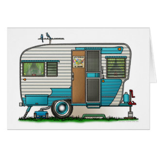 Deluxe Camper Trailer Card