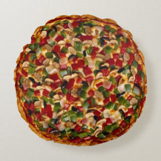 Deluxe Pizza Round Cushion