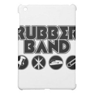 Deluxe Rubber Band Parody Logo Cover For The iPad Mini