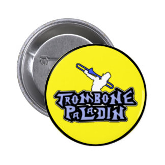 Deluxe Trombone Paladin Logo Buttons