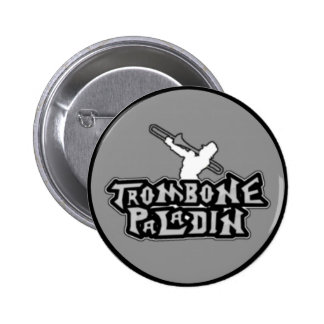 Deluxe Trombone Paladin Logo Pinback Buttons