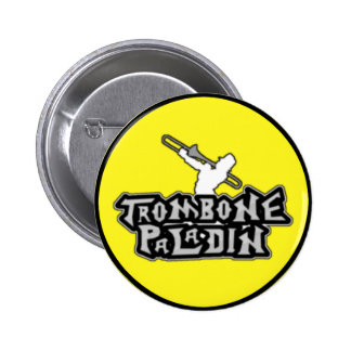 Deluxe Trombone Paladin Logo Pinback Button