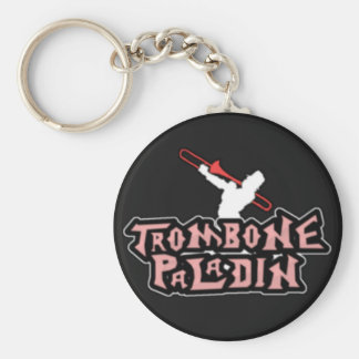 Deluxe Trombone Paladin Logo Key Chains