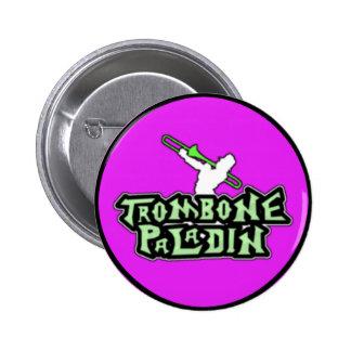 Deluxe Trombone Paladin Logo Pin