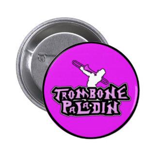 Deluxe Trombone Paladin Logo Pinback Button